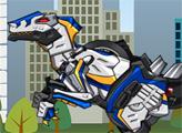 Игра Дино Робот 62 - Копы Велоцирапторы