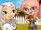 Игра Красотки и милый кролик