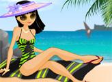 Игра Загар на пляже