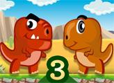 Игра Охота динозавров: Сухая земля