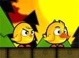 Игра Цыпленок и утенок братья