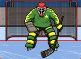 Игра Хоккей - Работа вратаря