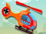 Игра Сумасшедший вертолет