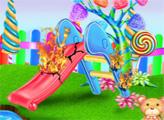 Игра Уборка конфетного сада