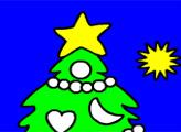 Игра Рождественская раскраска