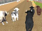 Игра Гонка злых быков