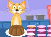 Игра Торт от Мамы Кошки