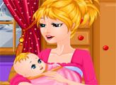Игра Кормление милого малыша