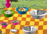 Игра Салат из курицы карри и манго