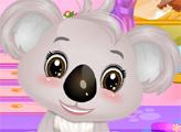 Игра Маленькая коала в салоне