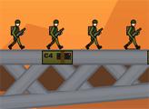 Игра Подрывник мостов