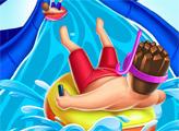 Игра Водные горки Аквапаркио