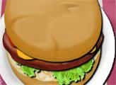 Игра Гамбургер с хрустящим цыпленком