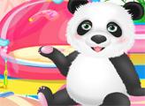 Игра Пушистая панда в салоне