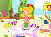 Игра Каролина наводит порядок в комнате