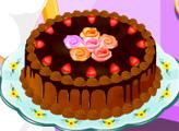 Игра Шоколадный торт с кремом