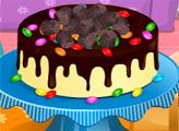 Игра Шоколадный торт с арахисовым маслом