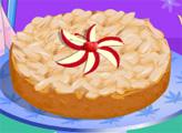 Игра Миндальный торт с яблоками