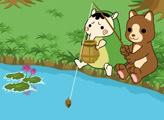 Игра Медвежья рыбалка