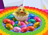 Игра Пасхальный торт Гнездо