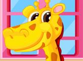 Игра Малыш жираф в салоне