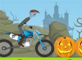 Игра Велопробег в Хэллоуин