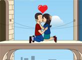 Игра Поцелуй на балконе