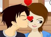 Игра Поцелуй в щечку