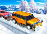 Игра Снегоуборочный джип