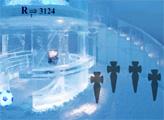 Игра Современный ледовый отель