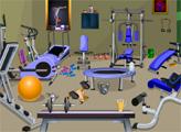 Игра Фитнес-центр: Поиск предметов