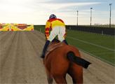 Игра Скачки на лошадях 3Д
