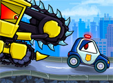 Игра Машина Ест Машину: Злые тачки