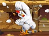 Игра Злой цыпленок собирает яйца