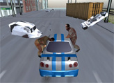 Игра Автомобиль против зомби