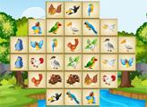 Игра Маджонг с птичками