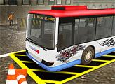 Игра Парковка автобуса