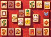 Игра Новогодний китайский маджонг