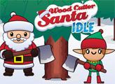 Игра Санта и новогодняя елка
