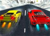 Игра Зимние гонки