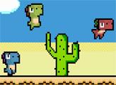 Игра Пиксель дино
