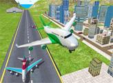 Игра Симулятор полетов на самолете 3D