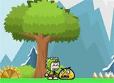 Игра Приключение зеленого малыша