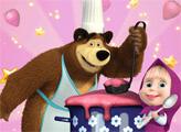 Игра Маша и медведь: кулинария