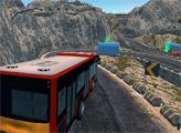 Игра Автобус на горной дороге