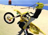 Игра Мото Гонка на пляже