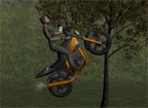 Игра Горные мотогонки