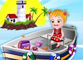 Игра Малышка Хейзел: Приключения на маяке
