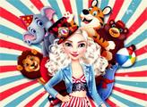 Игра Цирковые костюмы для принцесс
