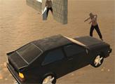Игра Погром зомби на авто